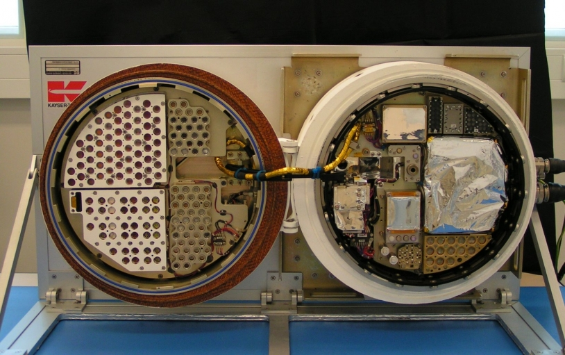 Module BIOPAN de l'ESA dans lequel se trouvait l'expérience UVolution. Crédits : LISA.