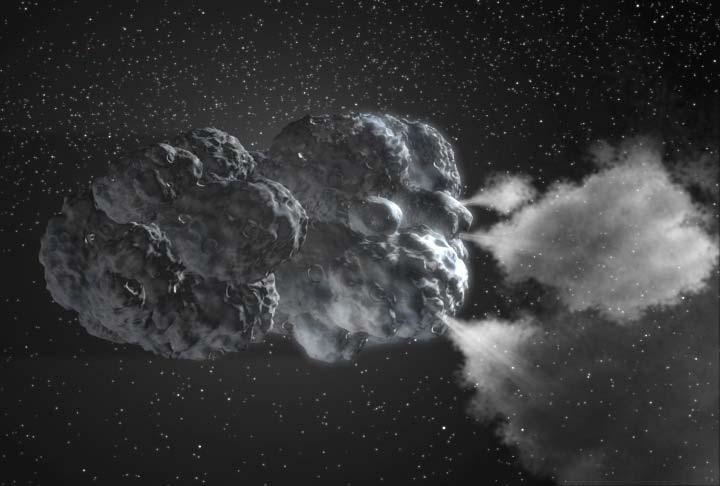 Les comètes cachent encore bien des secrets. Crédits : NASA/JPL-Caltech.